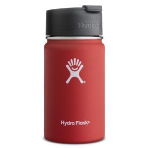 ハイドロフラスコ HydroFlask 保温・保冷水筒 12oz( 355ml) Wide Mouth Lava(赤) 平行輸入品|inage78