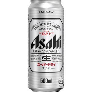 アサヒ スーパードライ 500mlケース(24缶入)