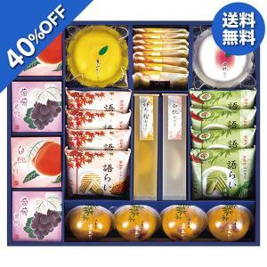 お中元 御中元 京都ラ・バンヴェント フルーツゼリー&焼菓子詰合せ 型番:LBD-45M ギフト お取り寄せ 送料無料 焼菓子 ゼリーの画像