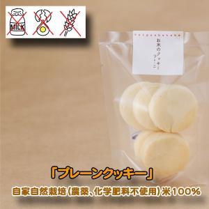 パイポン畑  プレーン 米粉100%手焼きクッキー×4 グルテンフリー 自家自然栽培 |inahoya