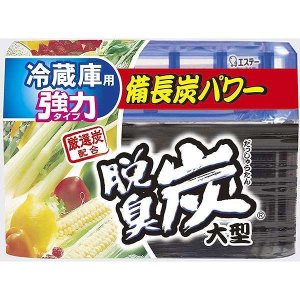 キャッシュレス5%還元 脱臭炭 冷蔵庫用大型 脱臭剤 240g|inai