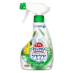キャッシュレス5%還元 トイレマジックリン ツヤツヤコートプラス トイレ用洗剤 消臭・洗浄スプレー シトラスミントの香り 本体 380ml|inai