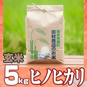 元年産 熊本県産☆ヒノヒカリ玄米5kg