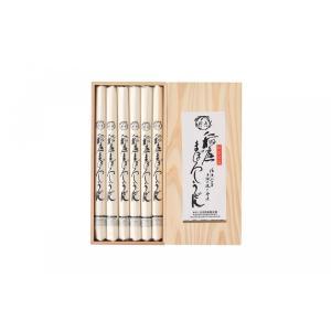 【ご贈答用木箱入り】稲庭まぼろしうどん 1200g(200g×6本)|inaniwamaborosi