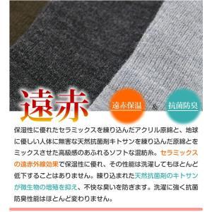 日本製 靴下 遠赤 冷え取り 婦人ハイソックス  あったかソックス inasaka 03