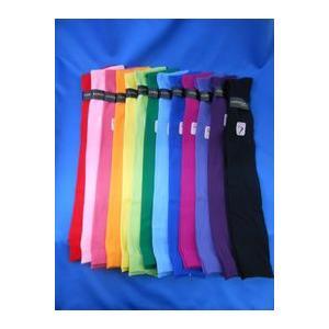 靴下 レディース 婦人 3足セット 同色  ナイロン オーバーニー 23−25cm カラフル カラー...