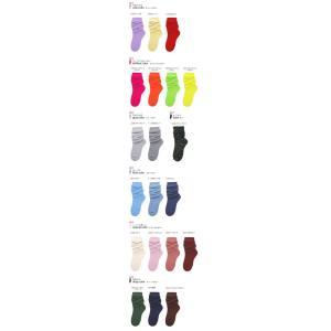 靴下 レディース 日本製 カラー ルーズソックス 選べる3足セット 30cm丈 癒足セット エコ包装|inasaka|05