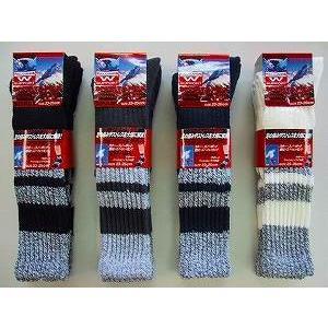 靴下 レディース スキー 同色2足組X3(6足)(3組は違う色で) クッションパイル スポーツソックススキー スノボに最適 クッション底&Wサポート|inasaka