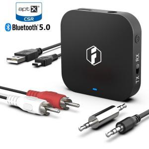 Inateck aptX HD Bluetooth オーディオレシーバー トランスミッター 送信機 ...
