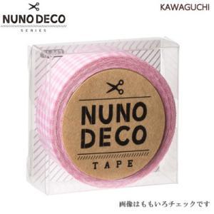 布に貼れる布のテープ ヌノデコ NUNO DECO 15mm幅 1.2m巻 KWG-nunodeco15 INAZUMA|inazumashop