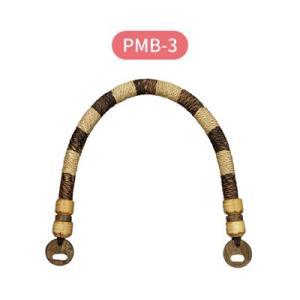 木工持ち手 手さげタイプ ウッドハンドル バッグ持ち手 かばん取っ手  全長約55cm 2本入 メール便不可 PMB-3 INAZUMA inazumashop