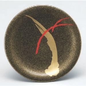 回転寿司皿 寿司皿梨地一筆武蔵野  高さ21 直径:150 (業務用食器)(グループI)