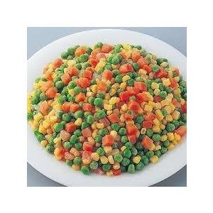 「ミックスベジタブル」とは - ニンジン、コーン、グリーンピースの3色が鮮やかな、冷凍 野菜です