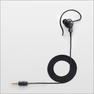 無線機 インカム アイコム ICOM SP-16PBW 耳掛け型イヤホン 黒(ロング)|incom-musenki