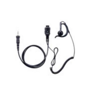 イヤホンマイク インカム スタンダード STANDARD SSM-59ACA 小型タイピンマイク&イヤホン(耳かけ式オープンエアー型 カールコード)|incom-musenki