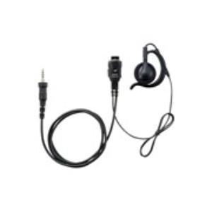 イヤホンマイク インカム スタンダード STANDARD 八重洲無線 SSM-59CSA 小型タイピンマイク&イヤホン(耳かけ式大型オープンエアータイプ) イヤホンマイク|incom-musenki
