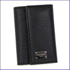 ドルチェアンドガッバーナ BP0874 キーケース  Dolce and Gabbana A1080 ブラック|increase2