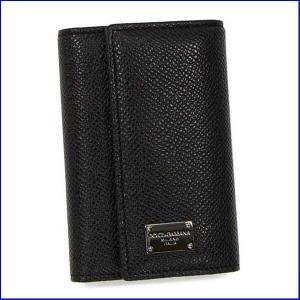 ドルチェアンドガッバーナ BP0874 キーケース  Dolce and Gabbana  A1001 ブラック|increase2