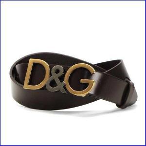 ドルチェアンドガッバーナ BC3785 メンズベルト  Dolce and Gabbana A1575 95cm ブラウン|increase2