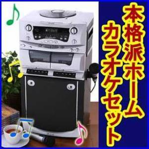 DVD・CD-G対応!本格派ホームカラオケセット|increase2
