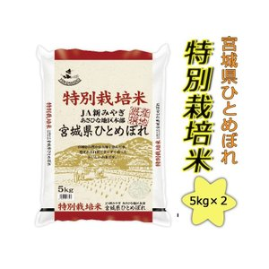 2年産 特別栽培米 宮城県産ひとめぼれ10kg(5kg×2)送料無料(北海道・沖縄・九州の場合は別途料金がかかります)   |inebourice