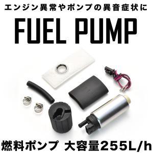 インテグラ シビック S2000 NSX CR-X 燃料ポンプセット 大容量255L/h 汎用 フュ...