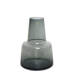 [ホルムガード]Holmegaard フローラ フラワーベース ミディアム スモーク H24 434...