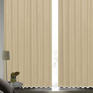 [カーテンくれない] 断熱・遮熱カーテン「静 Shizuka」完全遮光生地使用【形状記憶加工】遮音 ...