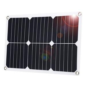 suaoki ソーラーパネル ソーラーチャージャー 18W DC18V出力 高効率 超薄型 ポータブ...