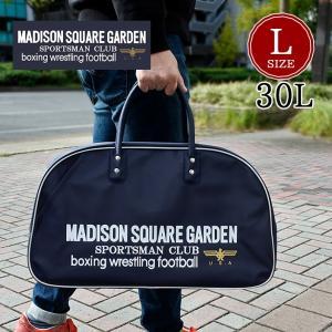 バッグ メンズ レディース MADISON SQUARE GARDEN マジソンバッグ L サイズ LARGE 30L 大容量 ボストンバッグ|infini-elts