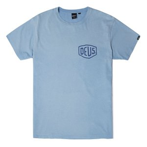 Deus ex Machina デウスエクスマキナ SUNBLEACHED MILAN TEE Tシャツ LIGHT BLUE DMP71462A|infinisportsnetshop