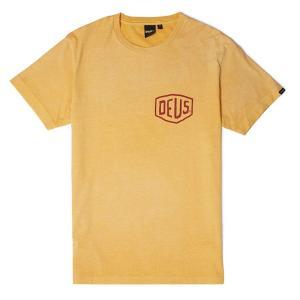 Deus ex Machina デウスエクスマキナ SUNBLEACHED TOKYO TEE Tシャツ YELLOW DMP71462B infinisportsnetshop