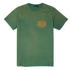 Deus ex Machina デウスエクスマキナ SUNBLEACHED VENICE  TEE Tシャツ GREEN DMP71462C infinisportsnetshop