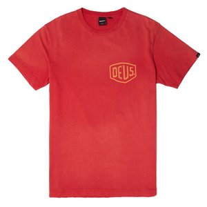 Deus ex Machina デウスエクスマキナ SUNBLEACHED CANGGU TEE Tシャツ RED DMP71462D infinisportsnetshop