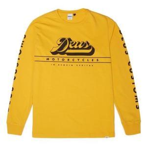 Deus ex Machina デウスエクスマキナ AVOCET TEE L/STシャツ BRIGHT YELLOW DMP71471 infinisportsnetshop
