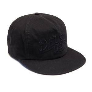 Deus ex Machina デウスエクスマキナ SEALED CAP BLACK, DMP77494 infinisportsnetshop
