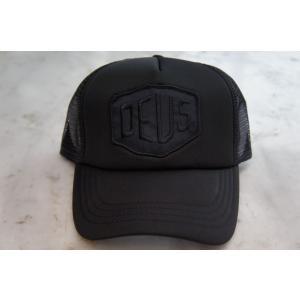Deus ex Machina デウスエクスマキナ BAYLANDS TRUCKER CAP Black, DMS07875 infinisportsnetshop