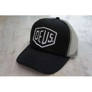 Deus ex Machina デウスエクスマキナ BAYLANDS TRUCKER CAP Black-Grey, DMS07875 infinisportsnetshop
