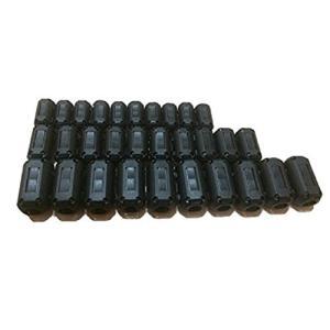 フェライトコア ノイズ フィルター パッチンコア 内径 5mm 7mm 9mm 高周波 ノイズ除去 ...