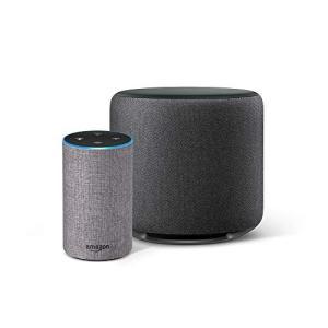 Echo(エコー)は、音声で操作できるスマートスピーカー 話しかけるだけで、天気、ニュース、時計、音...