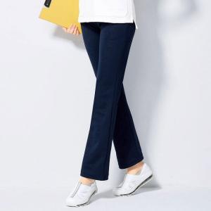 ナースウェア 白衣 ストレッチ医療 看護 介護 日本製携帯ポケット付き美脚パンツ