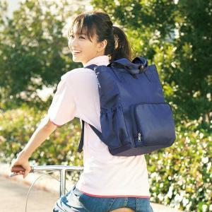 お客さまの「欲しい!」に応えて開発!アンファミエの人気バッグに「リュック」登場! 【大容量で出し入れ...