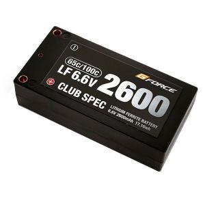 G-FORCE ジーフォース CLUB SPEC LiFe 6.6V 2600mAh GFG102 infomart