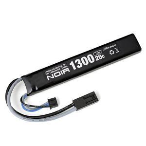 G-FORCE ジーフォース Noir LiPo 7.4V 1300mAh ストックイン スティックタイプ GFG903 infomart