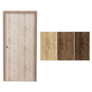 貼ってはがせる! DOOR DECO 室内用ドア装飾シート 粗木 88cm×210cm DOD-01|infomart