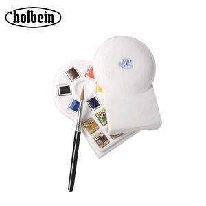ホルベイン 固形水彩絵具 パンカラー PN693 12色セット(白磁製) 2693|infomart