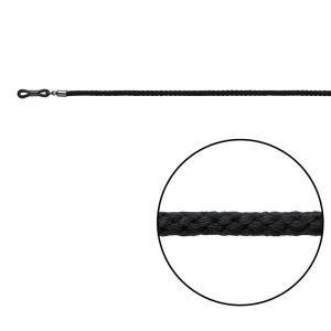 メガネチェーン FS-ブラック ストッパー付 05178|infomart