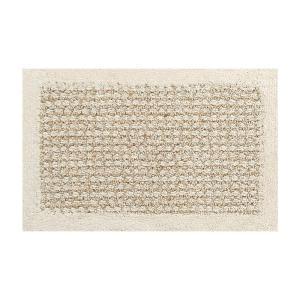 SENKO(センコー) ケナフコットン バスマット 約35×55cm ベージュ 120679|infomart