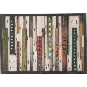 サインボード(看板) 木製(天然木) 横100cm×縦70cm (室内/屋外/ガーデン/玄関) SNB-142|infomart