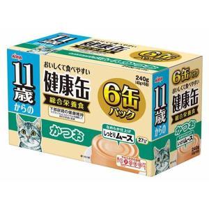 (まとめ)アイシア 11歳からの健康缶 かつお40g×6P 〔猫用・フード〕〔ペット用品〕〔×12セット〕|infomart